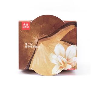 乐纯榛子香草三三三倍风味发酵乳135g 榛子香草,健康美味